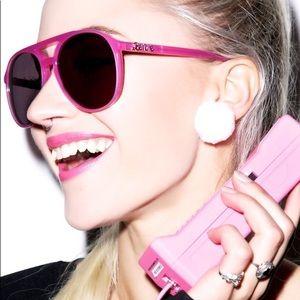 Wildfox Pink Barbie Skipper Sunglasses w/Case